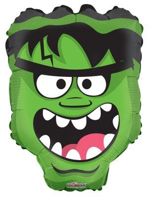 Halloween Green Monster Head Balloon( 18 Inch)