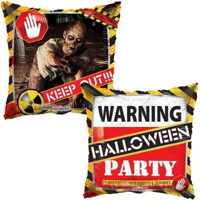 Halloween Zombie Party  Balloon (18 Inch)