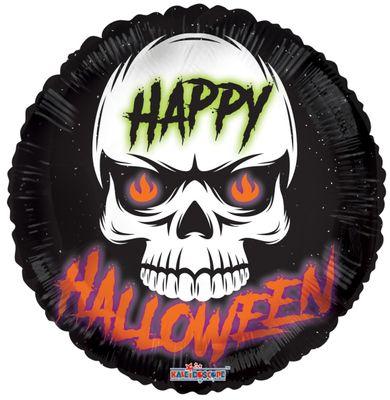 Halloween Skull Balloon (18 Inch)