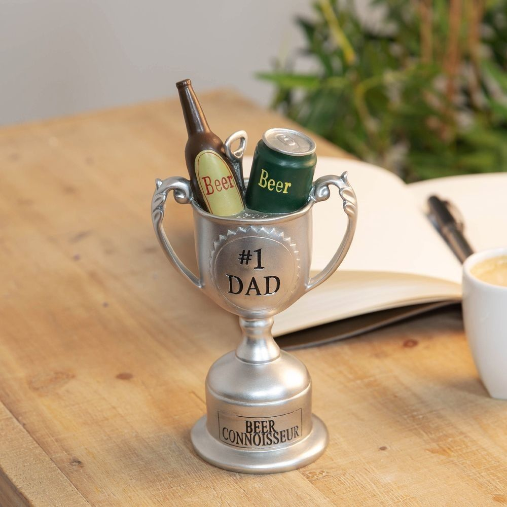 #1 Dad Beer Connoisseur Trophy