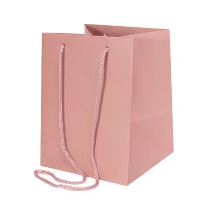 Deep Pink Hand Tie Bag (19 x 25cm)