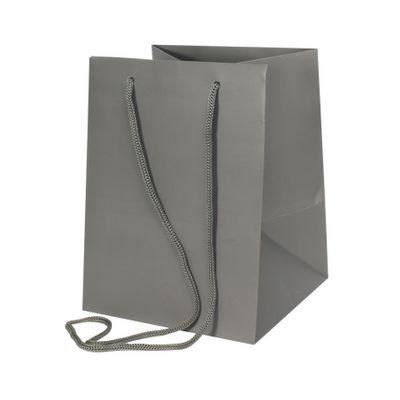 Dark Grey Hand Tie Bag (19 x 25cm)