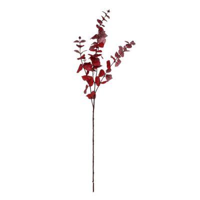 Glamis Large Eucalyptus Spray by 3 Red (108cm)