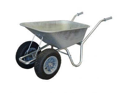 Carrier Wheelbarrow with Pneumatic Wheel