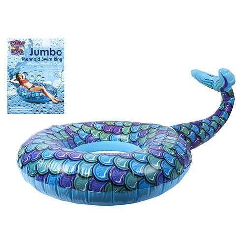 Jumbo Size Mermaid Swim Ring