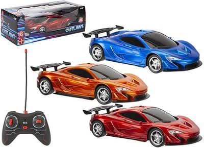 Metallic Street Race Car (3 Assorted)