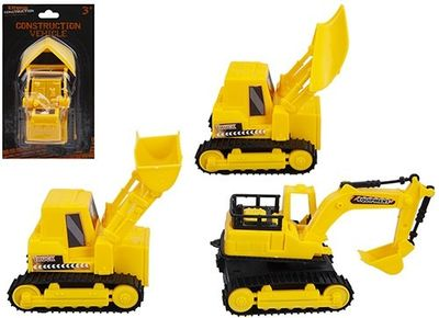 Friction Construction Vehicles (4 Assorted)