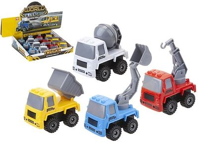 Construction Trucks (4 Assorted)
