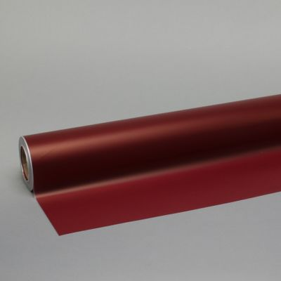 80cm x 80m Blood Red Frosted Film