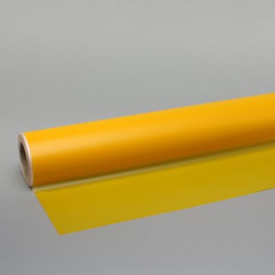 80cm x 80m Yellow Frosted Film