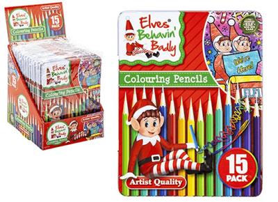 Elf Colouring Pencils