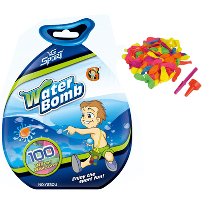 Water Bombs with Filler