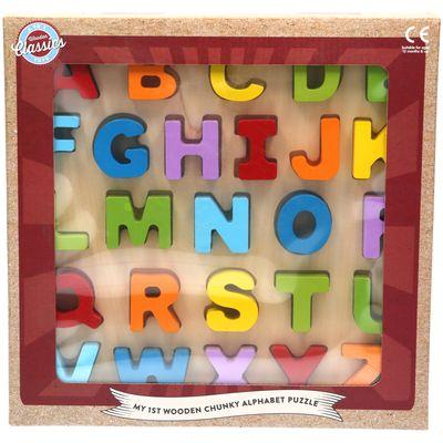 Chunky Wood Puzzle Abc