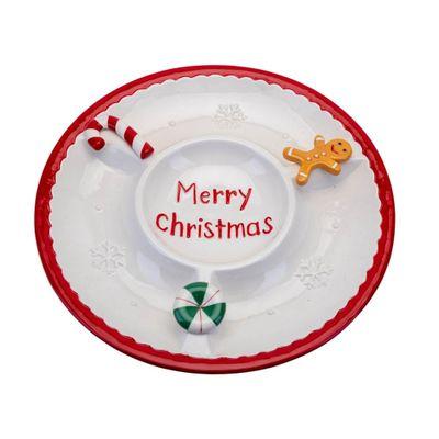 Christmas Serving Bowl