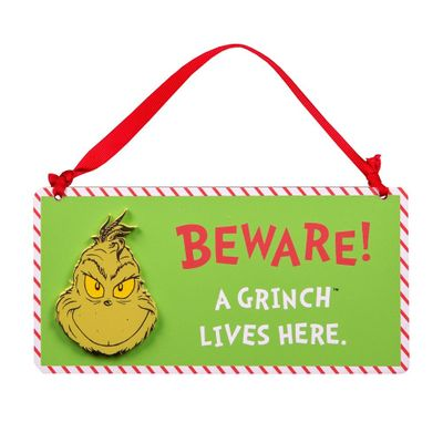 Grinch Sign