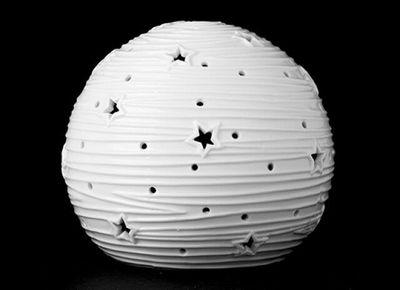 12.5CM WHITE LIGHT UP BALL