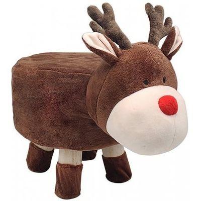 Reindeer Footstool