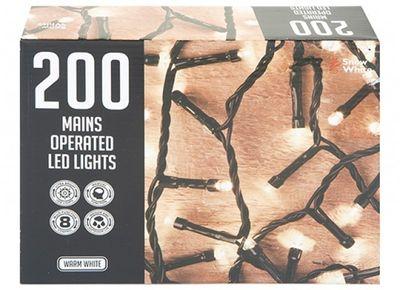 200 MULTI FUNCTION LIGHTS WARM WHITE