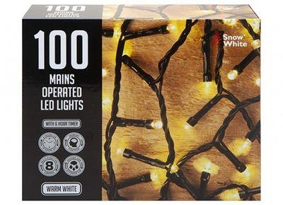 100 MULTI FUNCTION LIGHTS WARM WHITE