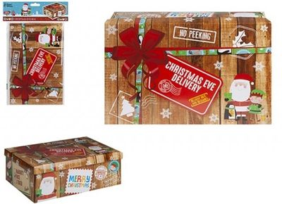 MEDIUM CHRISTMAS EVE BOX 45X34X12.5CM