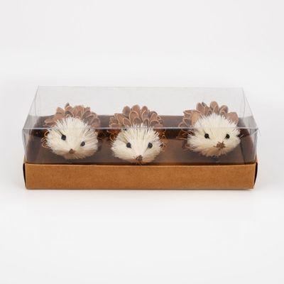 Set of 3 Hedgehogs