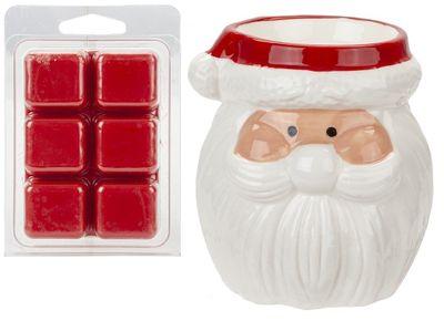 Santa Wax Burner & Melts Set