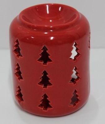 Red Christmas Tree Wax Warmer
