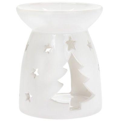 White Christmas Wax/Oil Burner