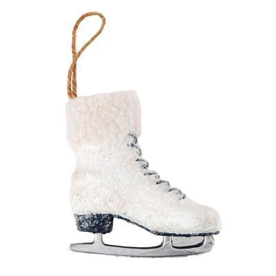 White Ice Skate Decoration **MULTI 3**