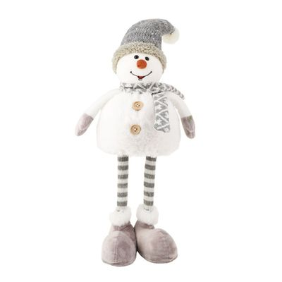 Standing Snowman with Spring Body