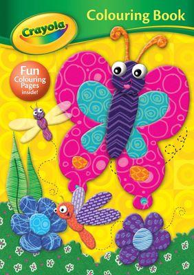 Crayola Colouring Book B/FLY