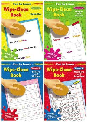 Fun to Learn Wipe Clean Books