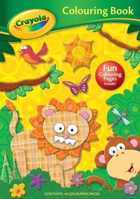 Crayola Colouring Book LION