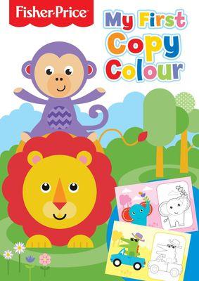 Fisher Price Copy Colour Book