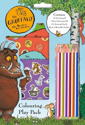 The Gruffalo Colouring Play Pack