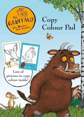 The Gruffalo Copy Colour Pad