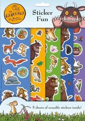The Gruffalo Jumbo Colouring Pad