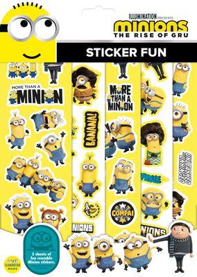 Minions Sticker Fun