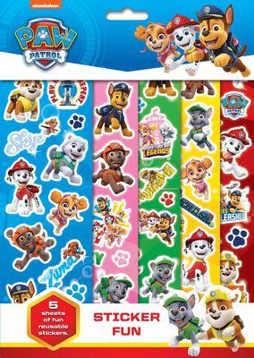 Paw Patrol Sticker Fun
