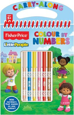 Fisher Price Colour By Numbers Set