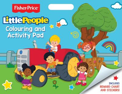 Fisher Price Little People Artist Pad