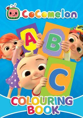 Cocomelon Colouring Book (ABC)