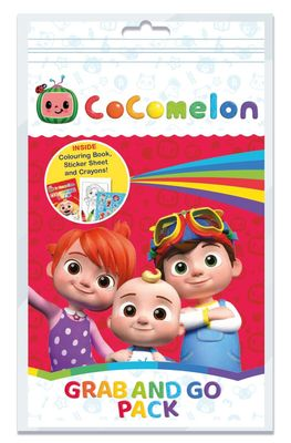 Cocomelon Grab and Go Pack