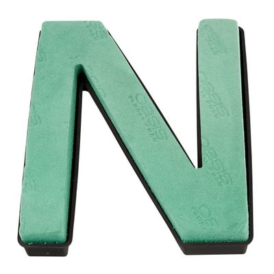 Naylorbase Black Qc Letter N