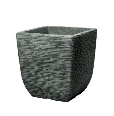 Stewart 32cm Square Cotswold Planter - Marble Green