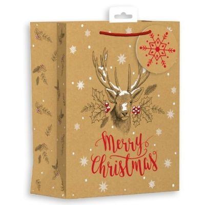 Stag Christmas Bag