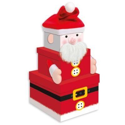 Santa Stacking Boxes