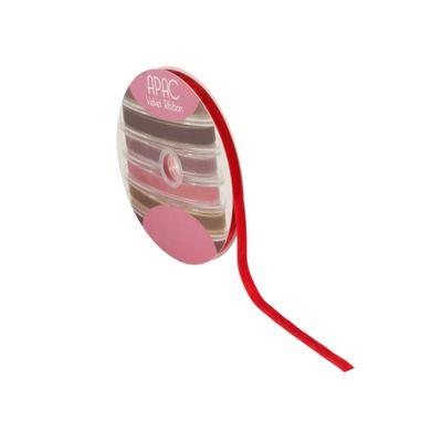 Bright Red Velvet Ribbon 10mm x 20m