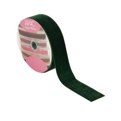 Forest Green Velvet Ribbon 50mm x 20m
