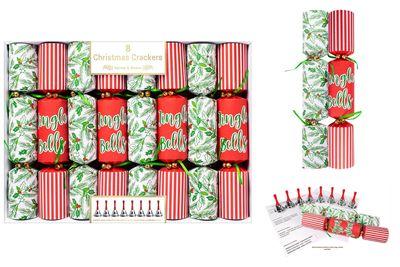 "8X12"" Jingle Bells Crackers"